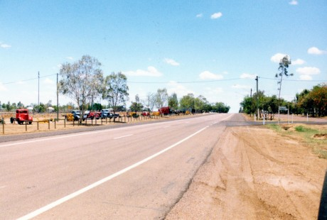 Ilfracombe, about 15 minutes out of Longreach, has about a mile-long stretch of historical machinery on display, along the length of the main street.