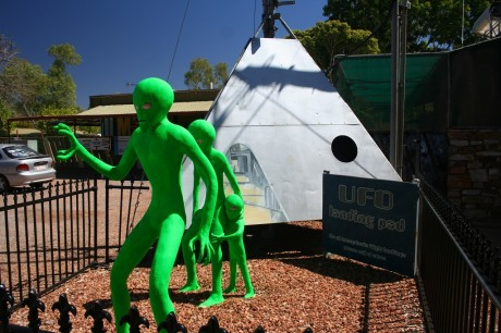 Little Green men at Wycliffe