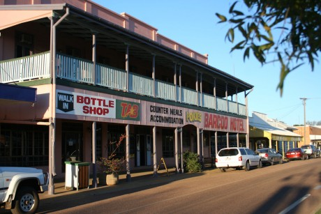 Barcoo Hotel in Blackall