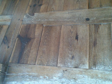 Floor Boards unnailed