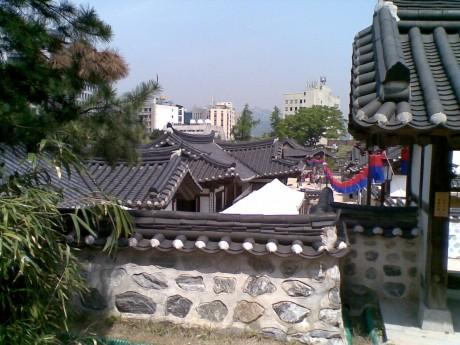 Namsangol Hanok Village Seoul