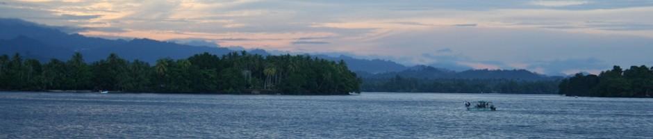 Madang Lagoon at Sunset