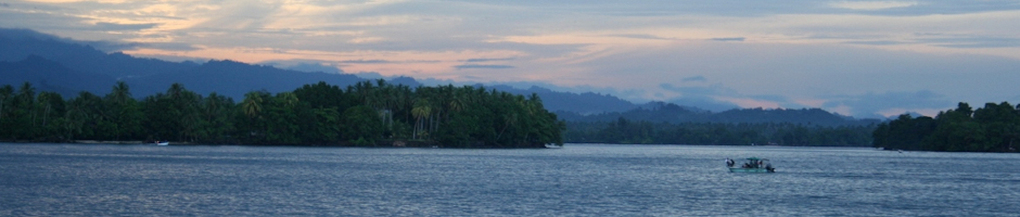 Madang Lagoon at Sunset