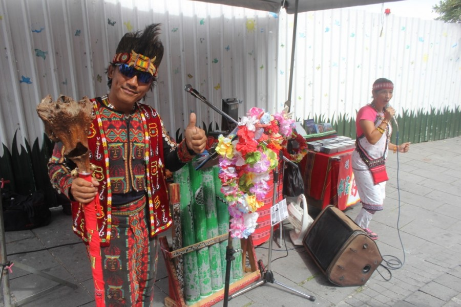 Local Ethnic group performing