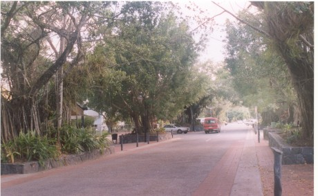 The main street of Kuranda