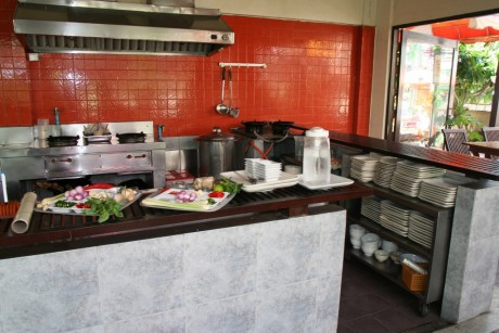 Pums Kitchen before we cooked in it and messed it up
