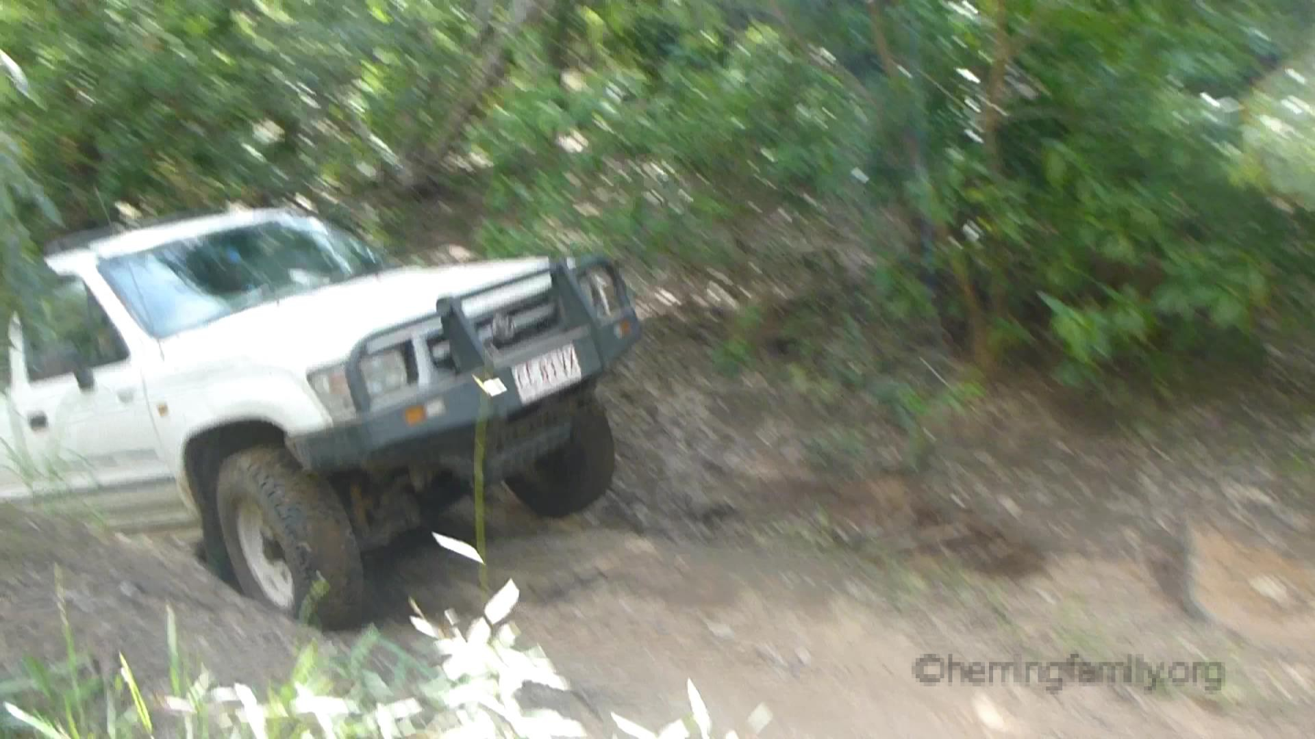 HiLux Going up hill